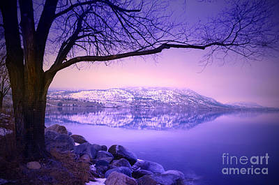 Photograph - Sunday Morning At Okanagan Lake by Tara Turner