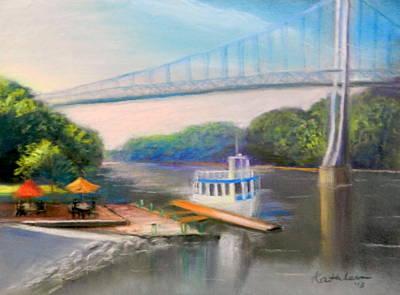 Franklin Delano Roosevelt Painting - Sunday On The Hudson by Kathleen Bonadonna