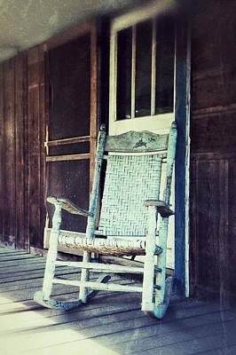 Rocking Chairs Photograph - Sunday Rocking by Brandon Addis