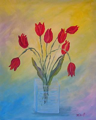 Sunday Tulips Original