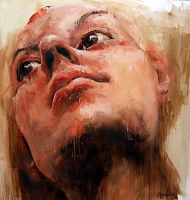 Sunday's Portrait Original by Michael Tsinoglou