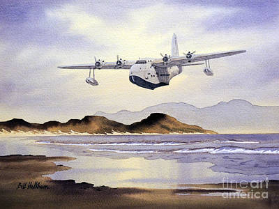Painting - Sunderland Over Scotland by Bill Holkham