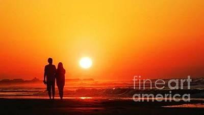 Photograph - Sunset by Alex Rahav