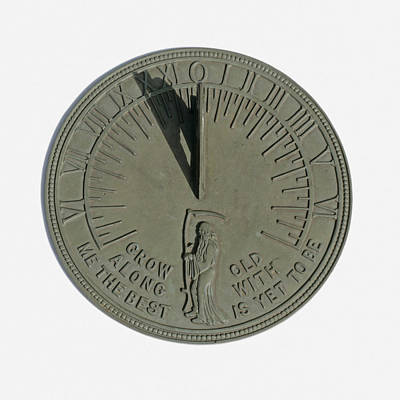 Father Time Photograph - Sundial 1 Of 3 by Science Stock Photography