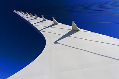 Photograph - Sundial Bridge Height by Robert Woodward
