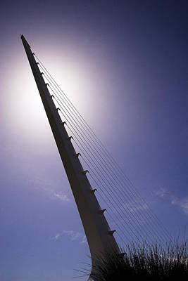 Photograph - Sundial Bridge by Robert Woodward