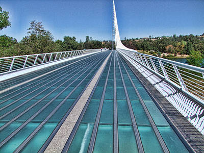 Photograph - Sundial Bridge by Ron Roberts
