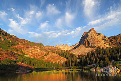 Photograph - Sundial Peak by Bill Singleton