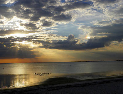 Photograph - Sundog Sunset by Judy Wanamaker