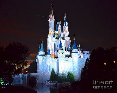 Photograph - Sundown At Cinderellas Castle by Carol  Bradley