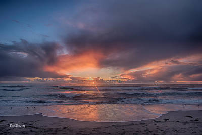 Central Coast Wall Art - Photograph - Sundown At Moss Landing by Bill Roberts