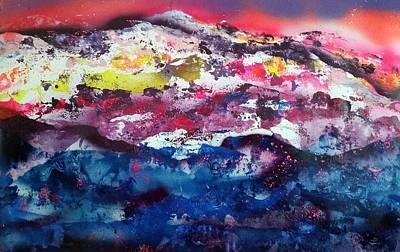 Sundown At Sundance Art Print
