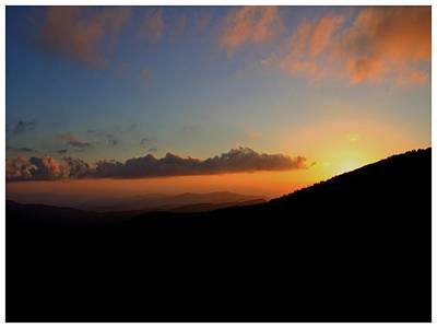 Photograph - Sundown At The Top by Frank Wickham