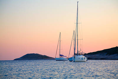 Photograph - Sundown In The Bay by Alexey Stiop