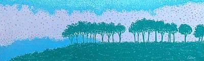 Sundown Art Print by Lisa Bates