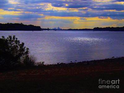 Photograph - Sundown On A Cloudy Day by Robyn King