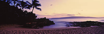 Sundown On North Shore, Oahu, Hawaii Print by Panoramic Images