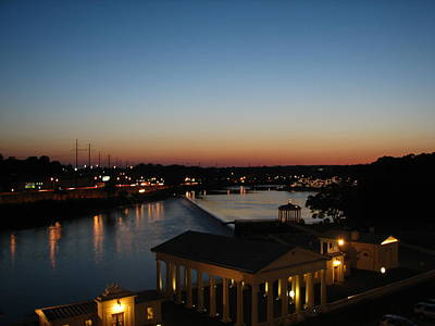 Art Print featuring the photograph Sundown On The Schuylkill by Christopher Woods