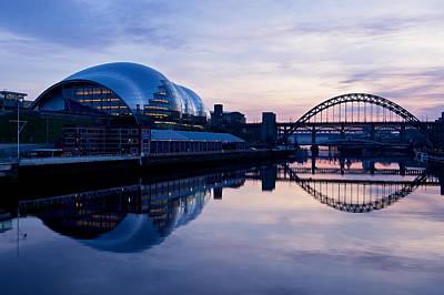 Photograph - Sundown On The Tyne by Stephen Taylor