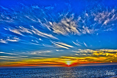 Photograph - Sundown Over Pacific by Jody Lane