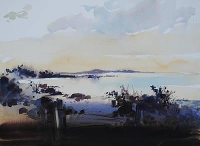 Painting - Sundown by P Anthony Visco