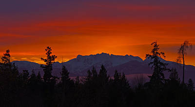 Photograph - Sundown by Randy Hall