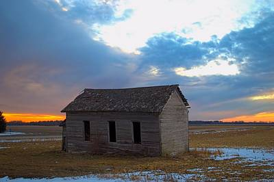 Photograph - Sundown School 2 by Bonfire Photography
