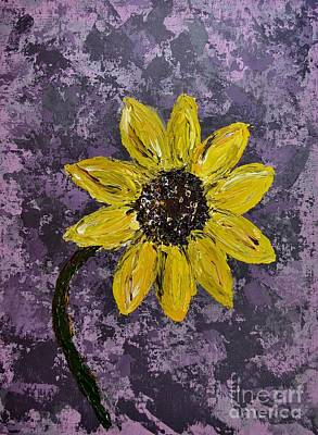 Sunflower Abstract Original
