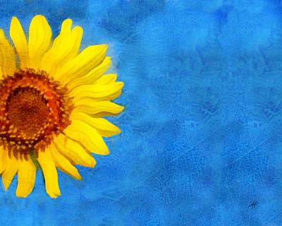 Sunflower Art Print by Ann Powell