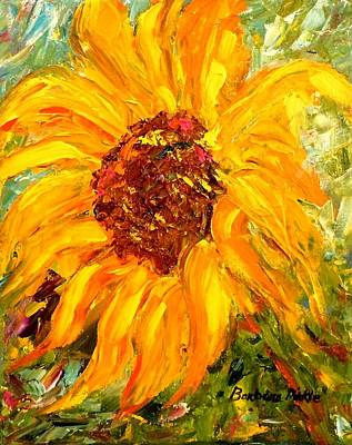 Painting - Sunflower by Barbara Pirkle