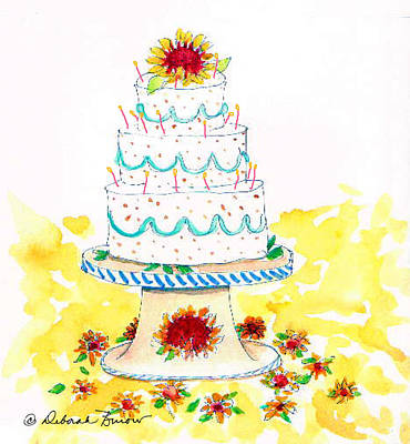 Birthday Cake Paintings Page 7 of 12 Fine Art America