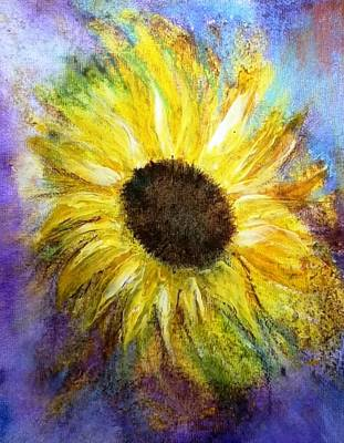 Painting - Sunflower by Carol Rowland