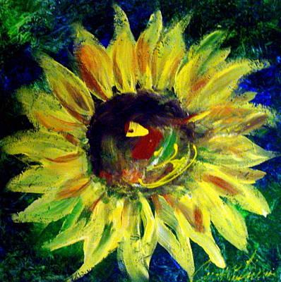 Sunflower  Art Print by Cynthia Hudson