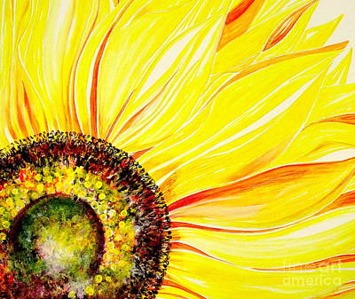Painting - Sunflower Day by Julie  Hoyle