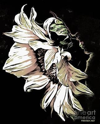 Sunflower Digital Art - Sunflower by Dragica  Micki Fortuna