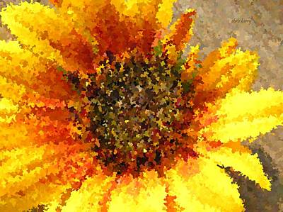 Photograph - Sunflower Dream by Chris Berry