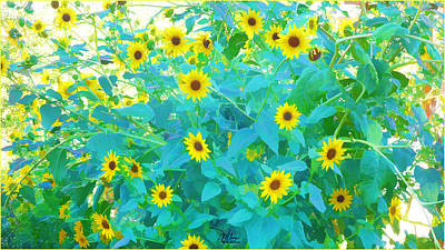 Painting - Sunflower Forest by Douglas MooreZart