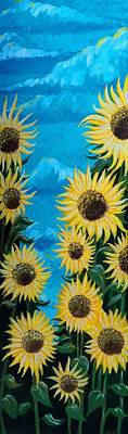Painting - Sunflower Fun by Timothy Michaels Flores