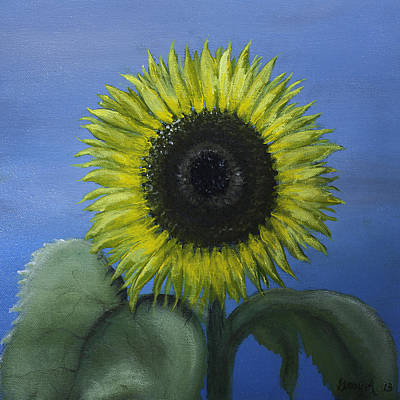 Painting - Sunflower by Gray  Artus