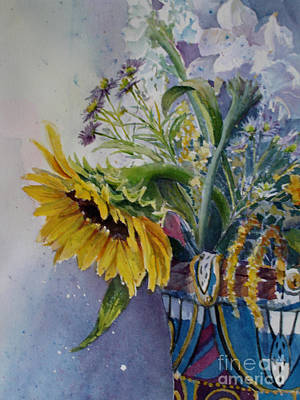 Painting - Sunflower I by Carole  DiTerlizzi