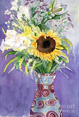 Painting - Sunflower II by Carole  DiTerlizzi