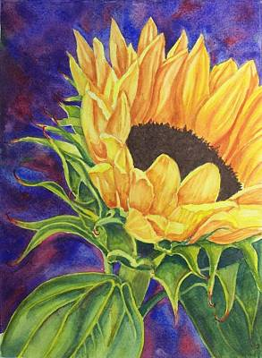 Painting - Sunflower II by Deane Locke