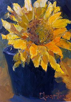 Painting - Sunflower by Lori Quarton