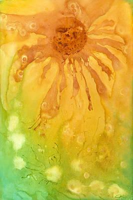 Painting - Sunflower Morning by Margarita Puckett