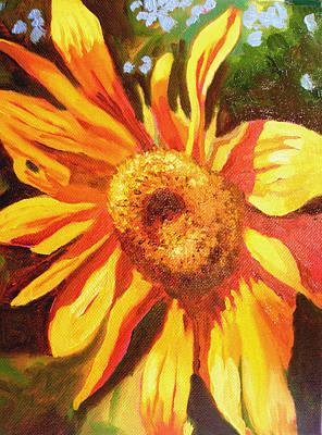 Girasol Painting - Sunflower Of Al Di La by Susi Franco
