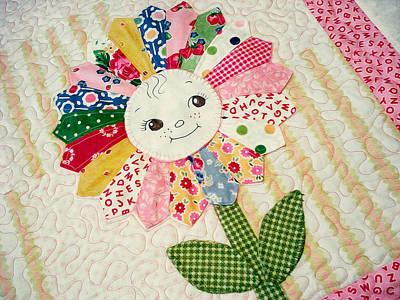 Sunflower Quilts Art Print