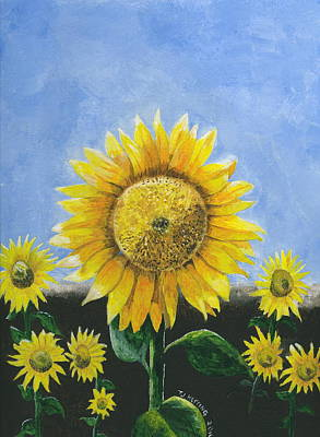Painting - Sunflower Series One by Thomas J Herring