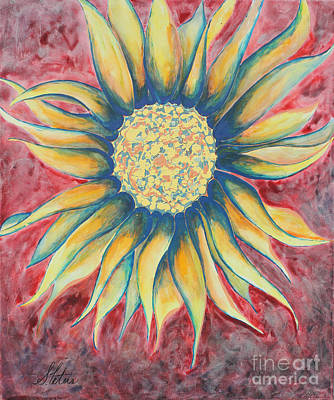 Sunflowers Mixed Media - Sunflower by Shannan Peters