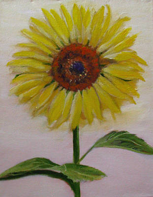 Painting - Sunflower by Sherry Robinson