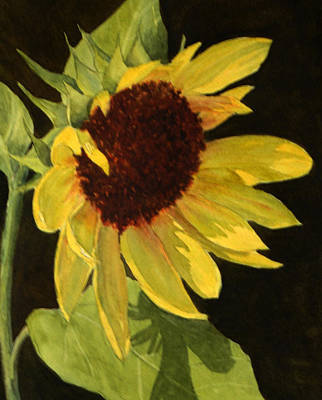 Painting - Sunflower Smile by Vikki Bouffard